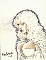 Beautiful White Queen. Click Artwork to View