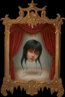 The Mysterious Miss Wu Limited Edition Framed Print Signed by Marion Peck. Click Artwork to View