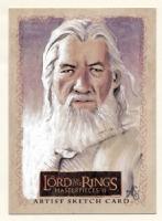 Gandalf Sketch Card by Allison Sohn