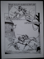 Truman , Tim  Grateful Dead Comix page with color guide FS. Click Artwork to View