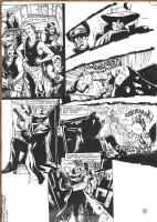 Joe Bennett / GREEN HORNET #29 p.5 . Click Artwork to View