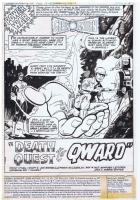 Joe Staton Green Lantern 125 pg 01  1250.00. Click Artwork to View