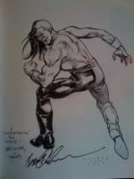 Brent Anderson Astro City sketch. Click Artwork to View