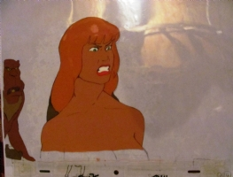 Heavy Metal Den story The Queen  pissed Cel. Click Artwork to View