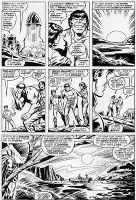 Trimpe Smart Hulk Comic Art