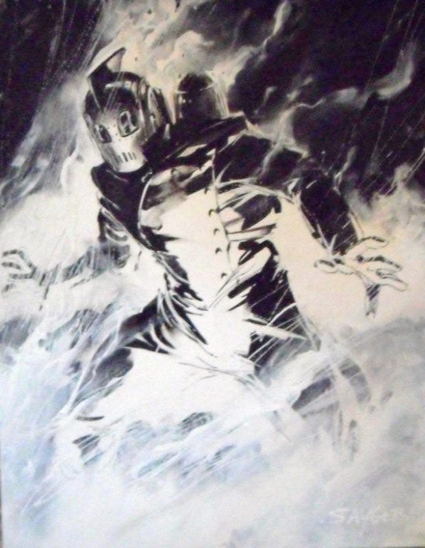 Rocketeer by Stuart Sayger Comic Art