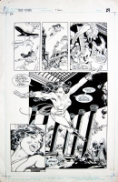 The New Teen Titans #7 pg.22 Comic Art