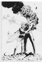Russ Heath's Blackhawk and his Lady Comic Art