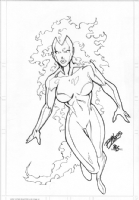 Nova Piece - Ron Lim - Pencil - 2005 Comic Art