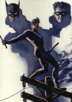 Nightwing Comic Art