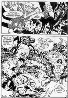Romberger Kirby-Jam page Comic Art