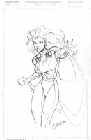 Storm Commission - Ron Lim - Pencil - 2004 Comic Art