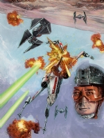 X-Wing Rogue Squadron Background Tatooine #3 Comic Art