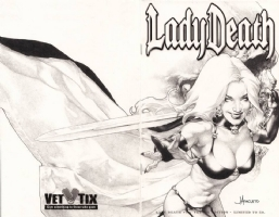 Anacleto - Lady Death #1 - Lady Death Comic Art