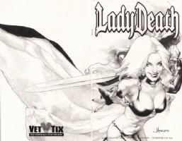 Anacleto - Lady Death #1 - Lady Death Comic Art