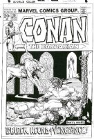 Conan #20,  Comic Art