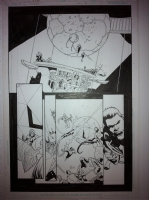 green lantern corps issue 38 page 13 Comic Art