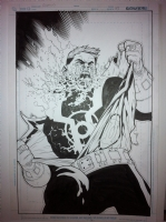 green lantern corps issue 43 Comic Art