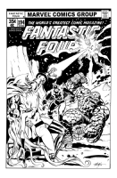 Fantastic Four/Inhumans vs. Doctor Doom  Comic Art