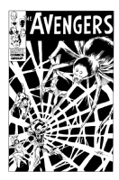 The Avengers: The Incredible Shrinking Man  Comic Art