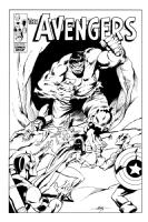 The Avengers vs. The Hulk Comic Art