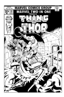 Marvel Two-In-One Commission Comic Art