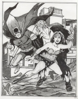Batman/Wonder Woman vs. Grundy  Comic Art