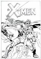 X-Men #43 Recreation (Version #2) Comic Art