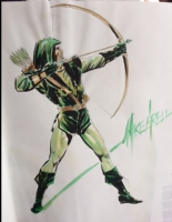 Green Arrow (Long Bow Hunters) Comic Art