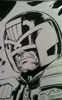 Judge Dredd by Scott Dalrymple Comic Art