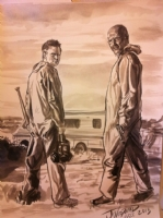 Breaking Bad by J.K. Woodward Comic Art
