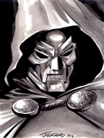 Dr. Doom by J.K. Woodward Comic Art