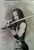 Michonne By Scott Dalrymple Comic Art