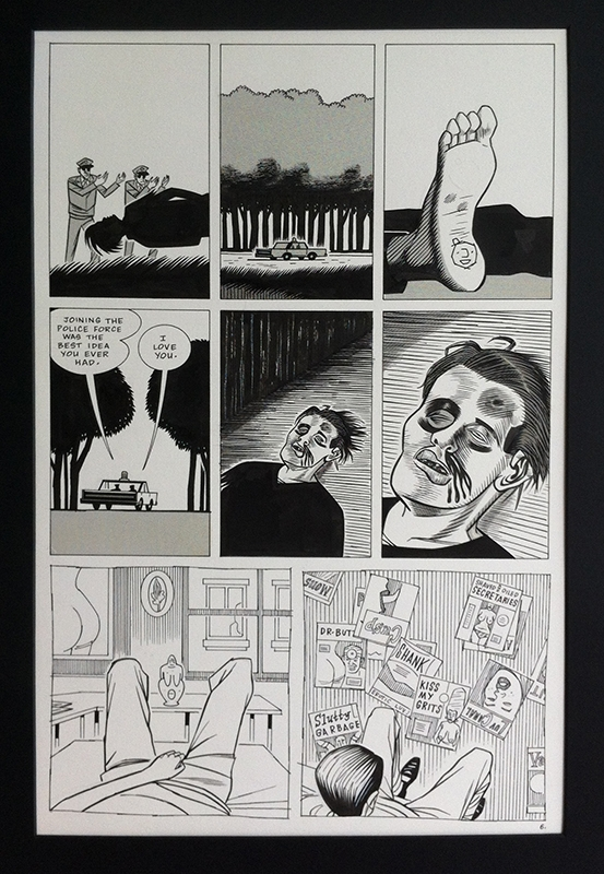 Daniel Clowes - Eightball #2 - Like a Velvet Glove Cast in Iron pag. 6 Comic Art