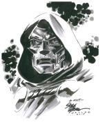 Doctor Doom by Steve Epting (Fan Expo Dallas 2015) Comic Art