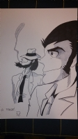 lupin  Comic Art