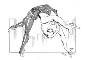 Spidergwen! Comic Art