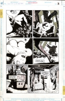 Batman & Dracula: Red Rain page 3 Comic Art