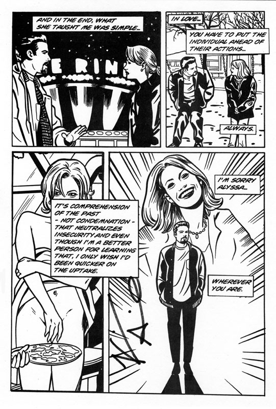 Chasing Amy Comic Art