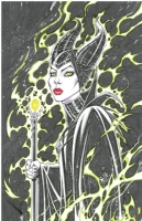 Maleficent by Oliver Nome, Comic Art