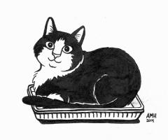 Figaro by Alisa Harris, Comic Art