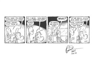Charmy's Army by Davy Jones, Comic Art