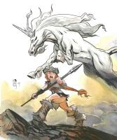 Princess Ugg #4 by Ted Naifeh, Comic Art