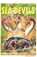 Sea Devils 6 by Russ Heath Comic Art