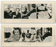 Carol Day 397/398 by David Wright, Comic Art