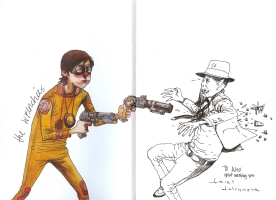 The Wrenchies by Farel Dalrymple, Comic Art
