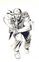 Sgt. Rock by Joe Kubert, Comic Art