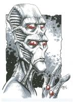 Kla'tuu, the Sylth by Eric Henson, Comic Art