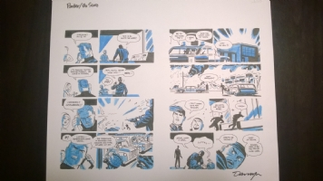 Parker: The Score - Pages 106,107 Comic Art