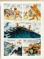 little annie Fanny Surf Comic Art